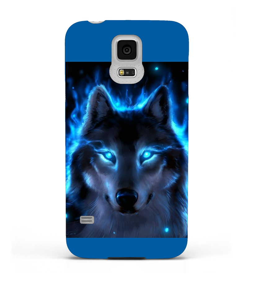 wolf - telefoon cover