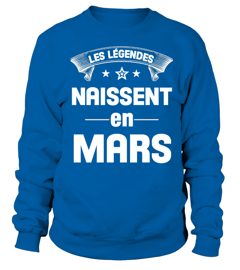 LES LÉGENDES NAISSENT EN MARS
