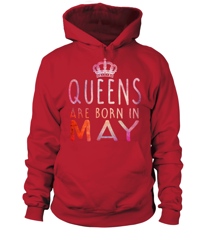QUEEN ARE BORN IN MAY T-SHIRT