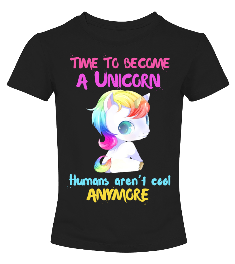 CUTE UNICORN  LADIES TSHIRT