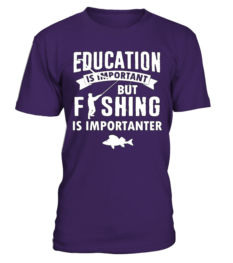 Education?Fishing Is Importanter