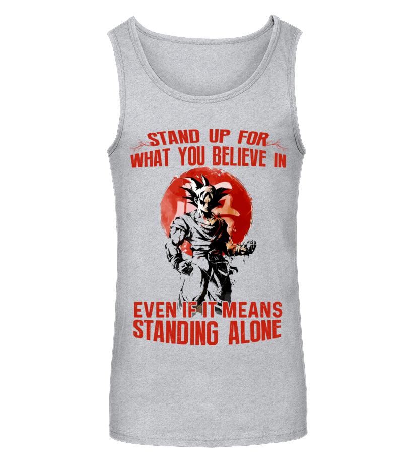 Goku Stand Up T- Shirt
