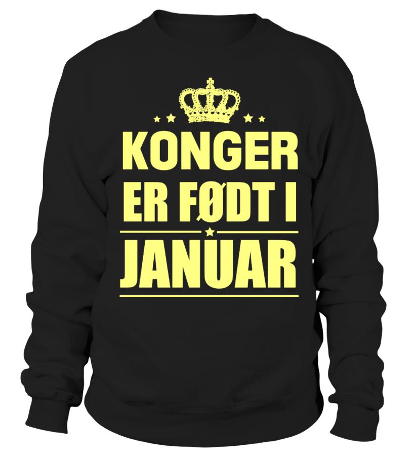 KONGER  ER FØDT I  JANUAR