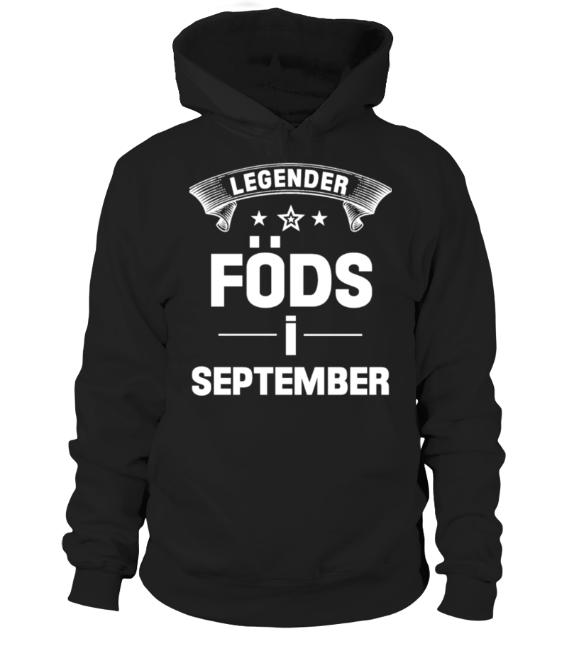 LEGENDER FÖDS I SEPTEMBER
