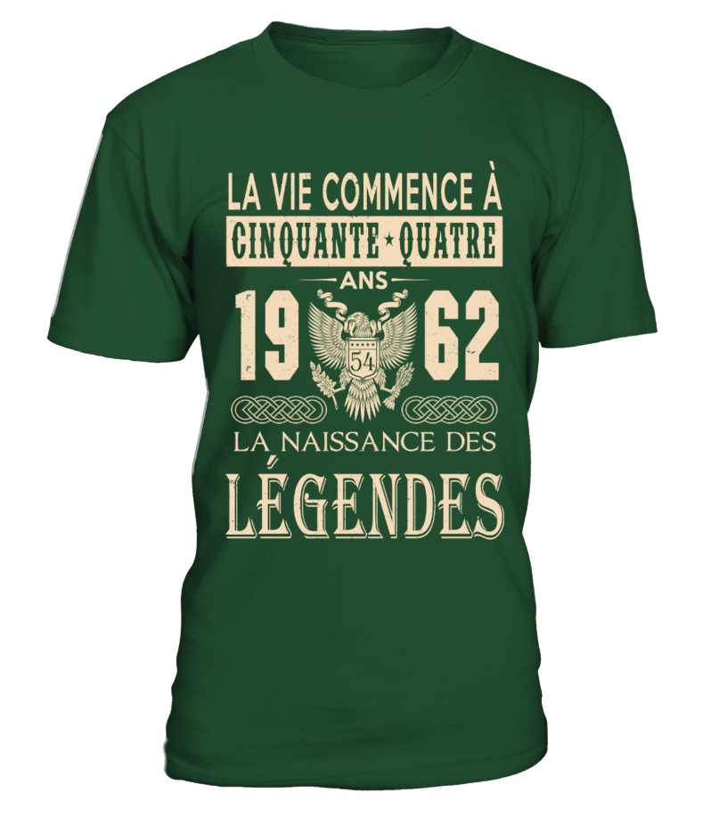 1962 - Legendes T-shirts
