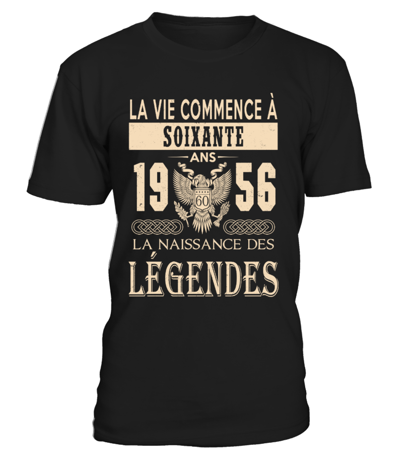 1956 - Legendes T-shirts