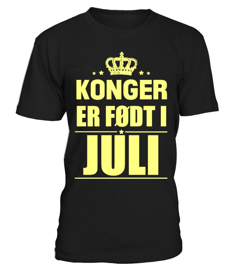 KONGER  ER FØDT I  JULI