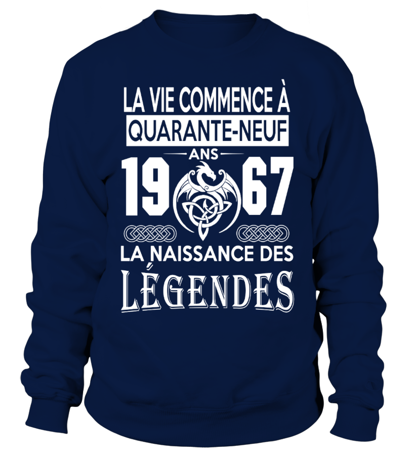 1967-LEGENDES TSHIRT