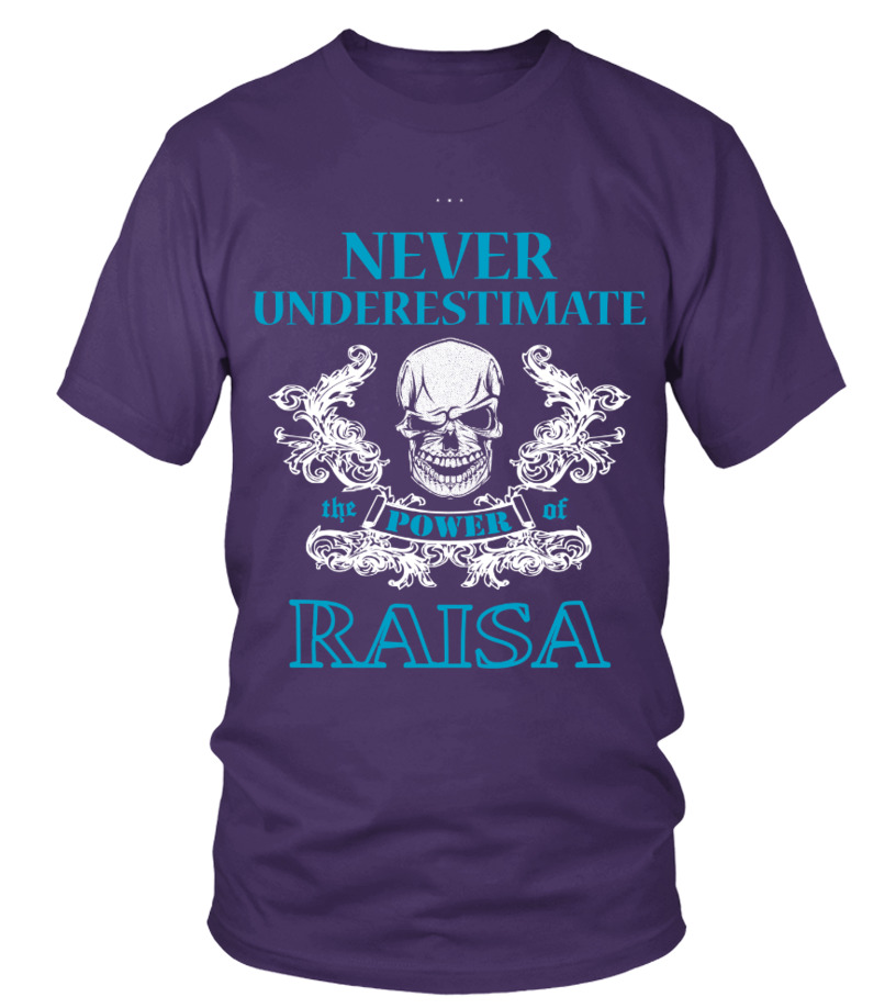 RAISA NEVER UNDERESTIMATE