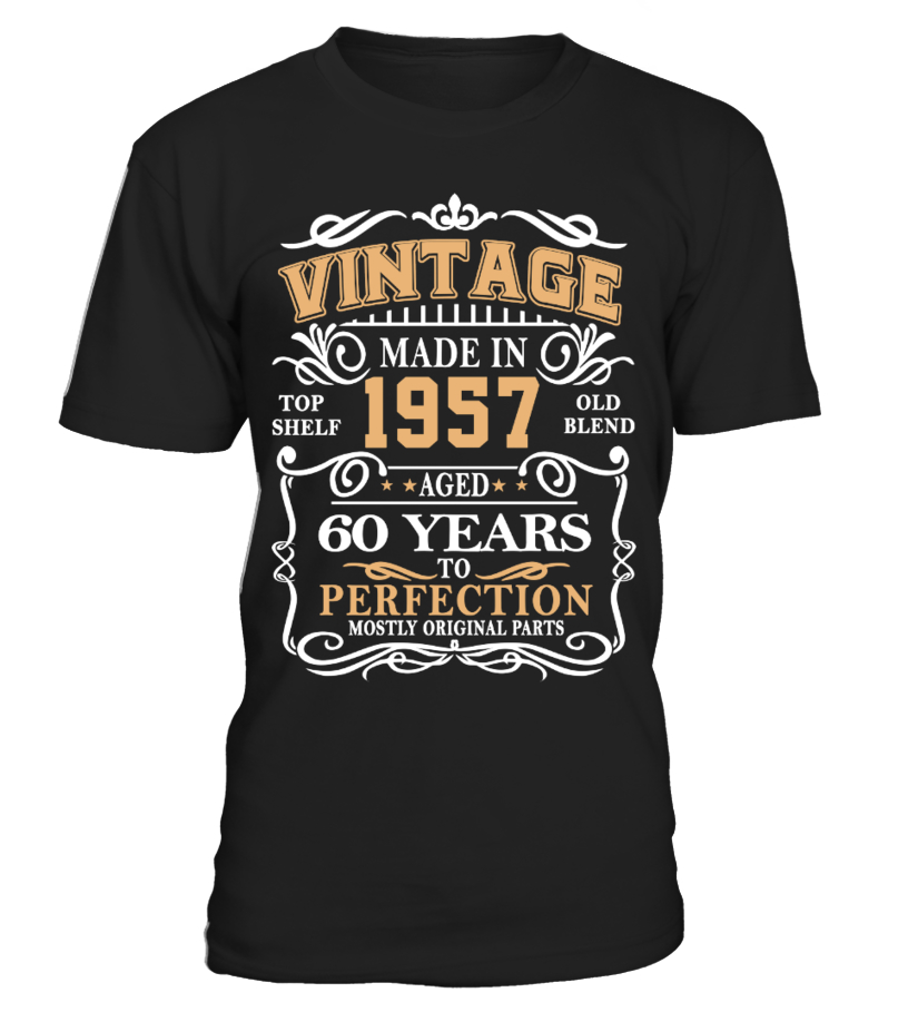 Vintage 1957 Aged to Perfection