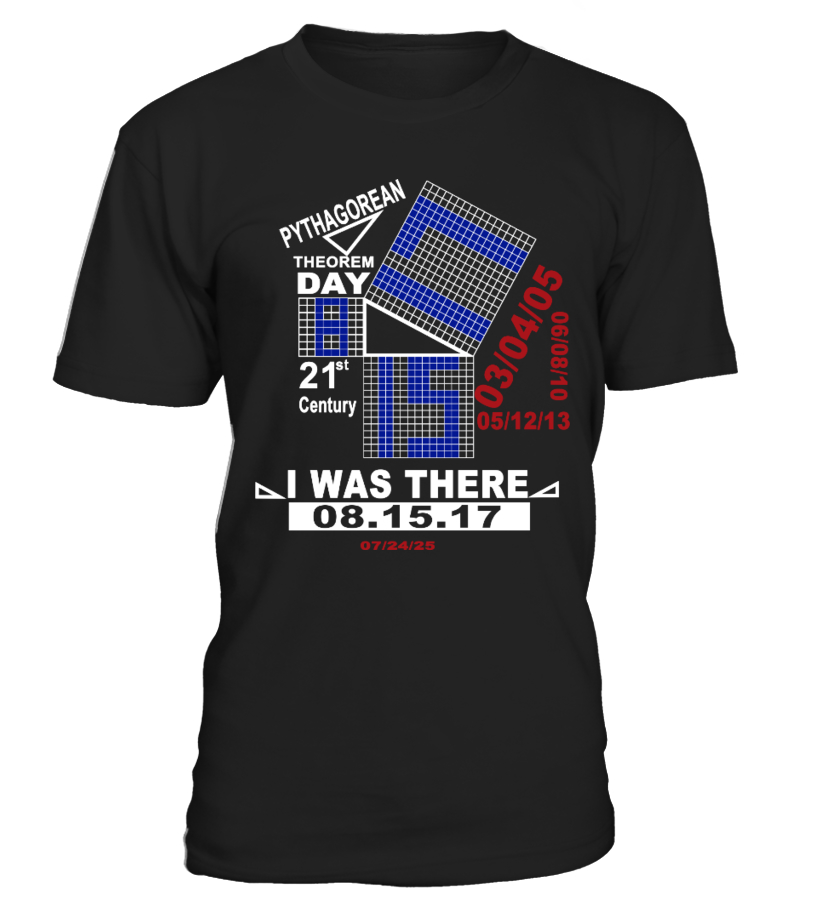 PYTHAGOREAN THEOREM DAY 2017 TSHIRT