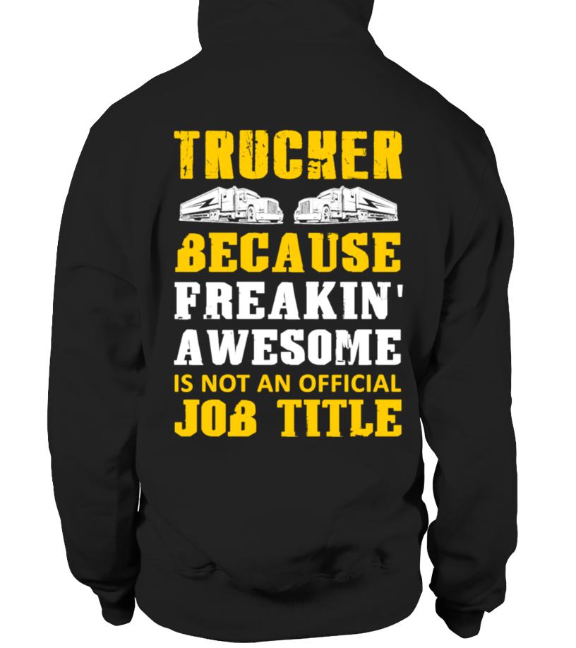 Trucker Unisex Tshirt