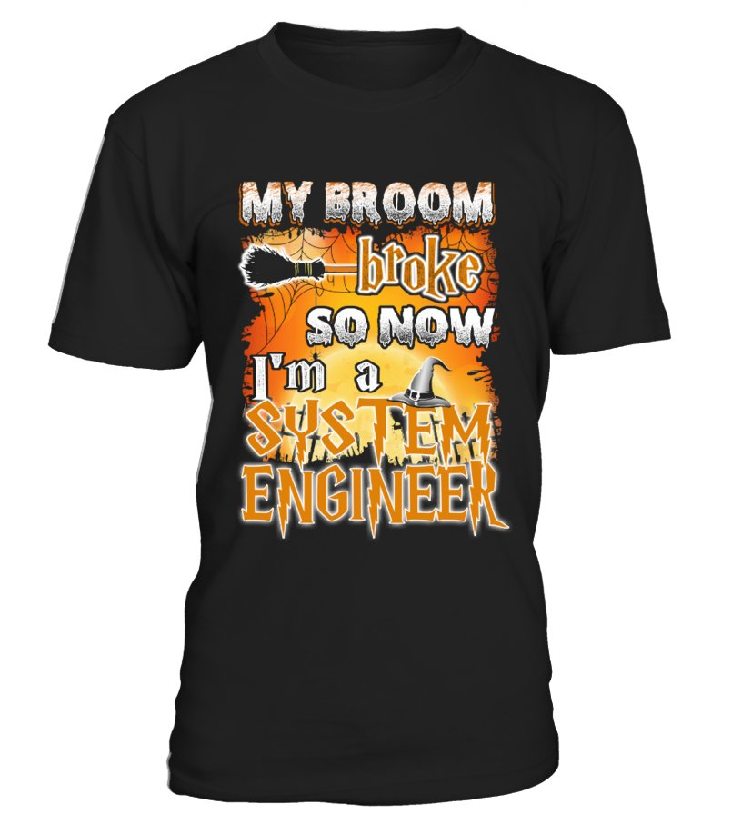 SYSTEM ENGINEER Halloween T Shirts
