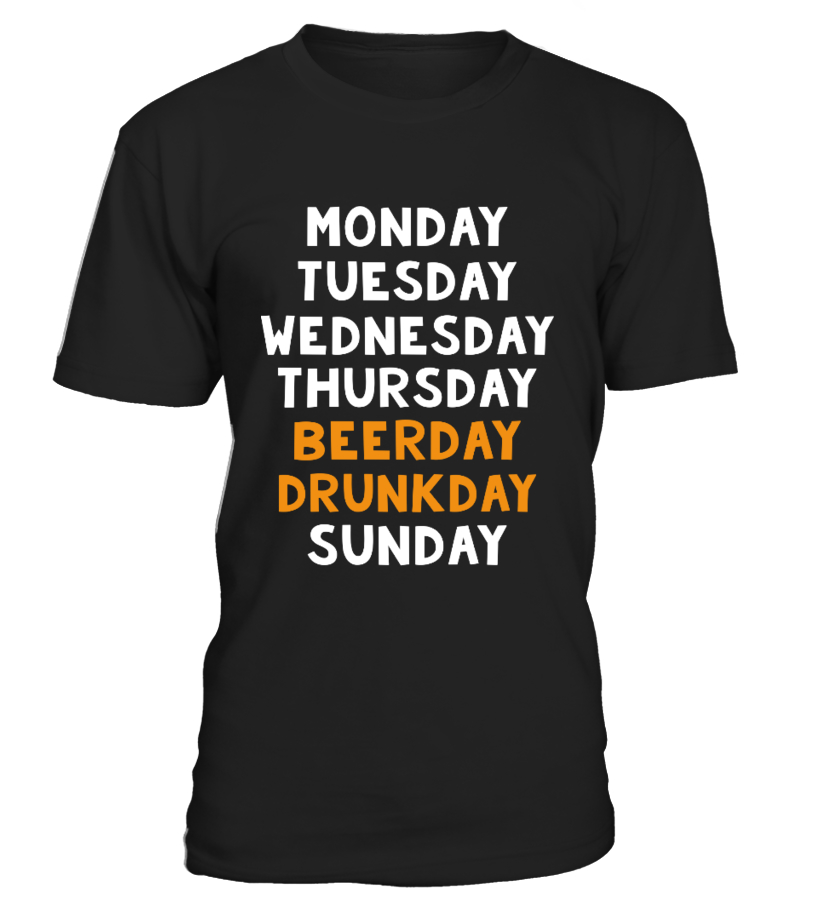 Beerday Drunkday T-Shirt