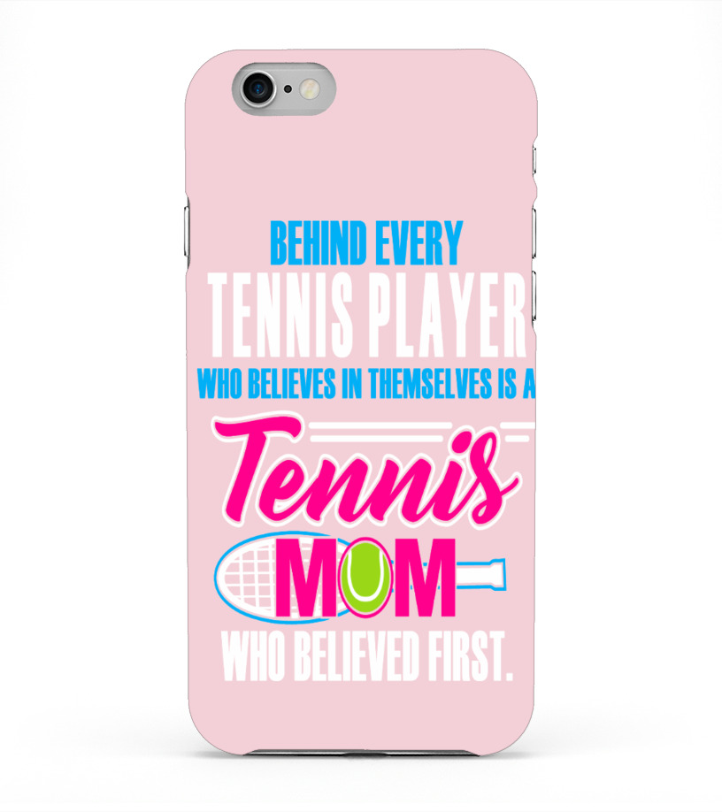 Tennis Mom Believed First (Phone Case)
