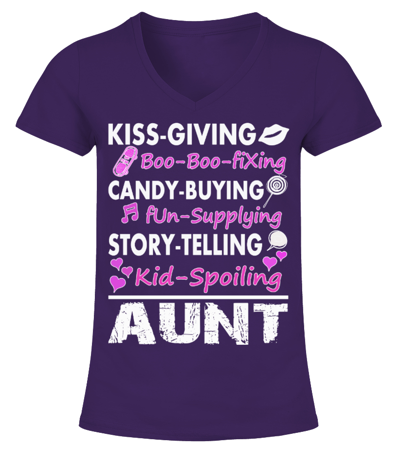 KISS GIVING• . . . •STORY TELLING • AUNT
