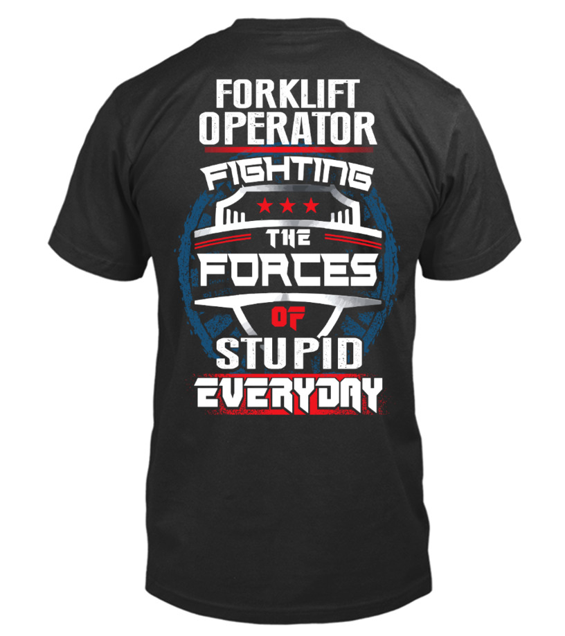 Awesome Forklift Operator Shirt