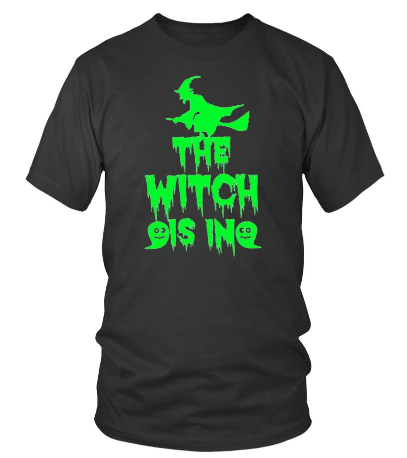 Womens The Witch Is In Tee Gift