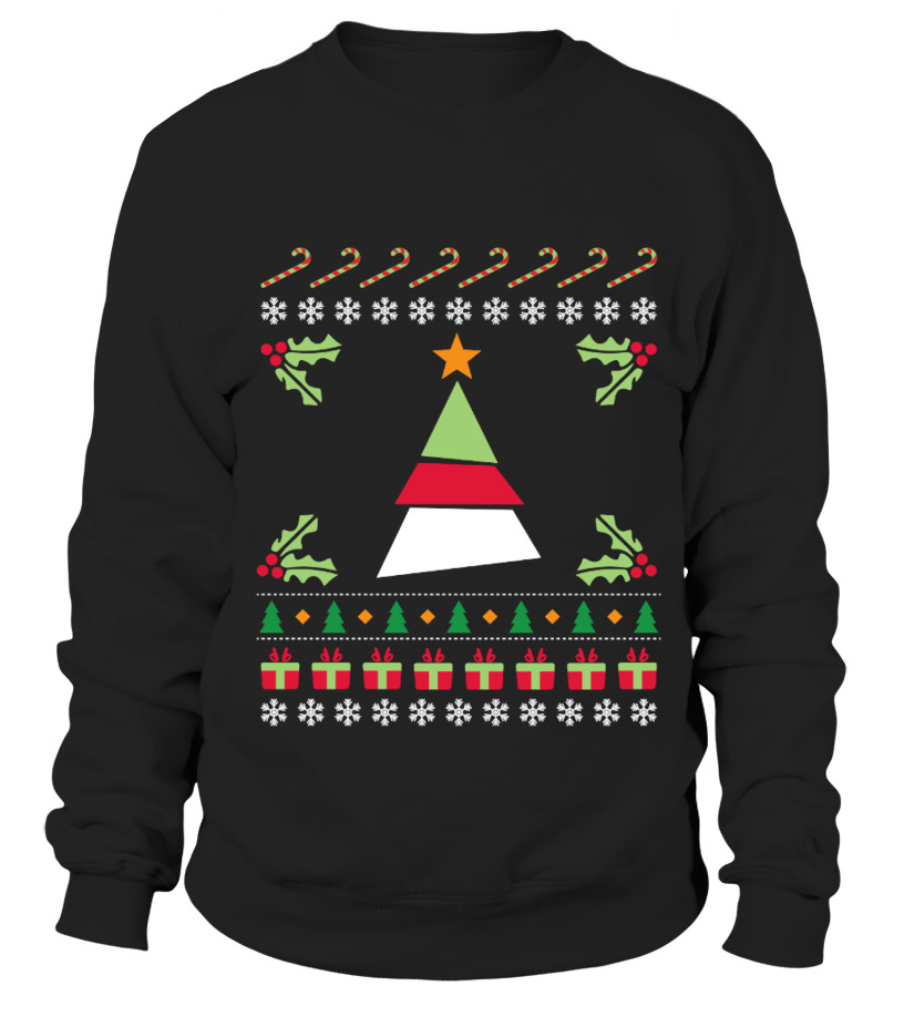 Ugly Christmas Sweater Gedrukte T-shirt