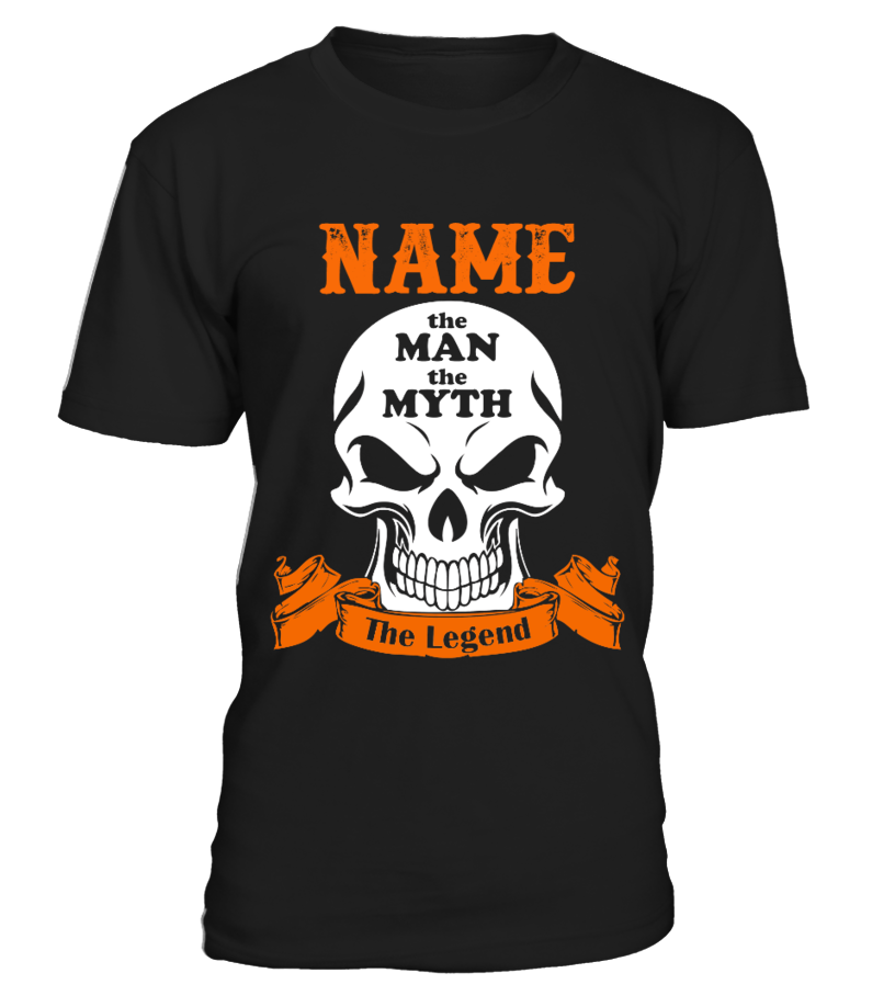 Custom Name The Man The Legend T-shirt