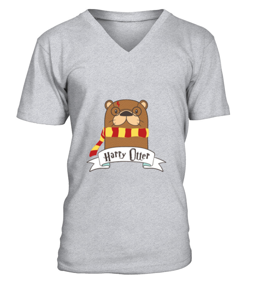 Gifts Christmas - Otter t shirt Funny Christmas Cute Gift V-neck T-Shirt Unisex