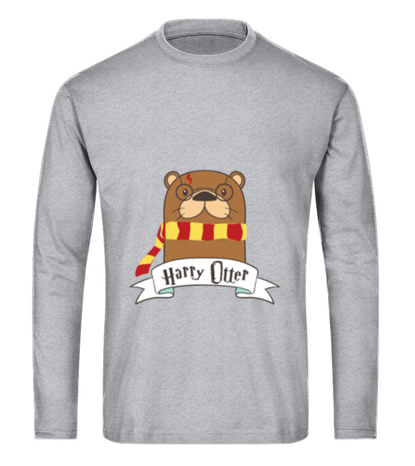 Gifts Christmas - Otter t shirt Funny Christmas Cute Gift Long sleeved T-shirt Unisex
