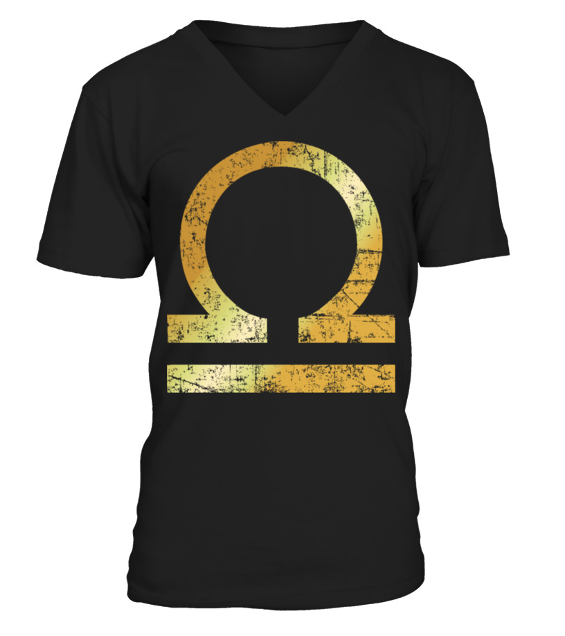 Shop October Tshirt - Zodiac Sign Libra \u2013 The Sign of Libra V-neck T-Shirt Unisex