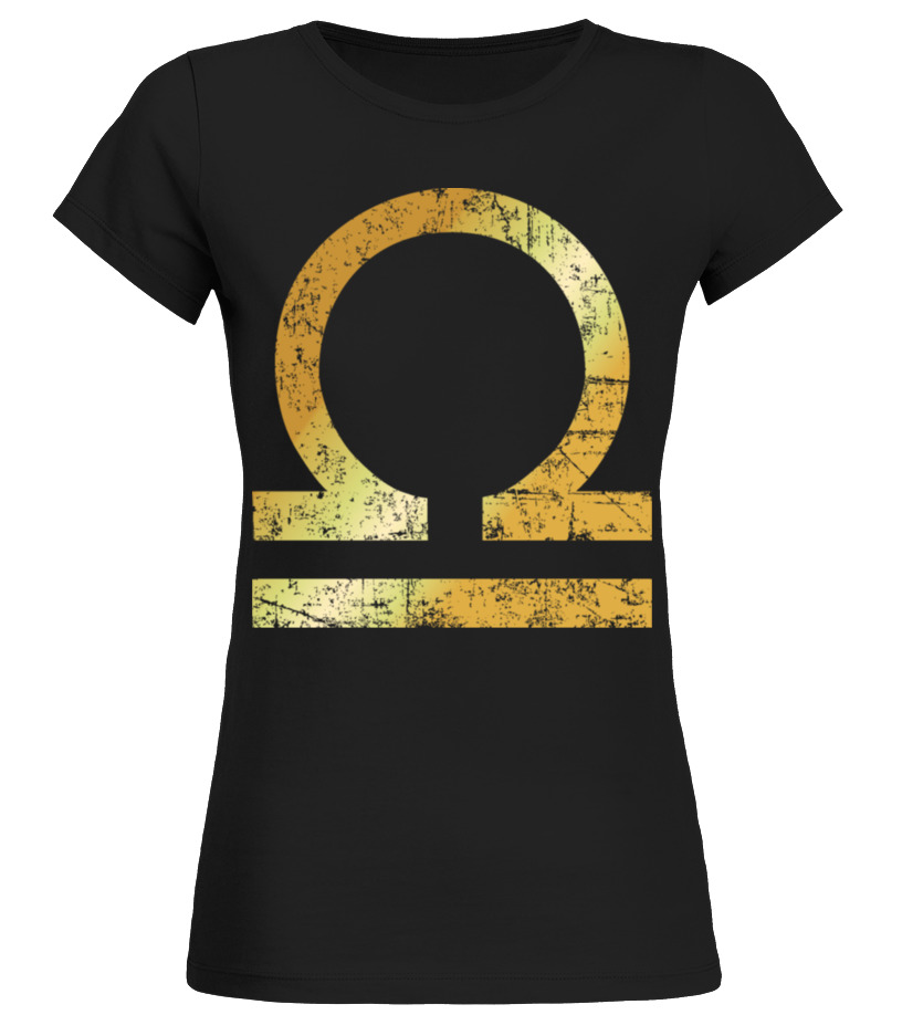 Shop October Tshirt - Zodiac Sign Libra \u2013 The Sign of Libra Round neck T-Shirt Woman