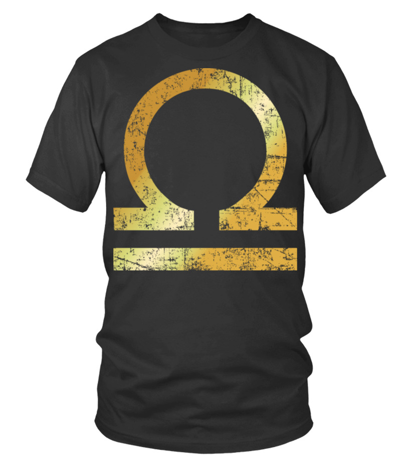 Shop October Tshirt - Zodiac Sign Libra \u2013 The Sign of Libra Round neck T-Shirt Unisex
