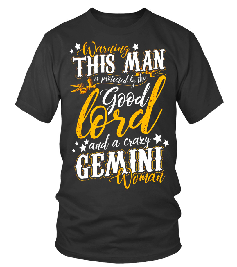 Best June T-Shirt - Warning This Man Is Protected By The Gemini June Guy T-Shirt Round neck T-Shirt Unisex
