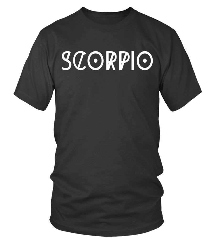 Shop November Tshirt - Scorpio T-shirt Cool Horoscope Scorpio Astrology Round neck T-Shirt Unisex