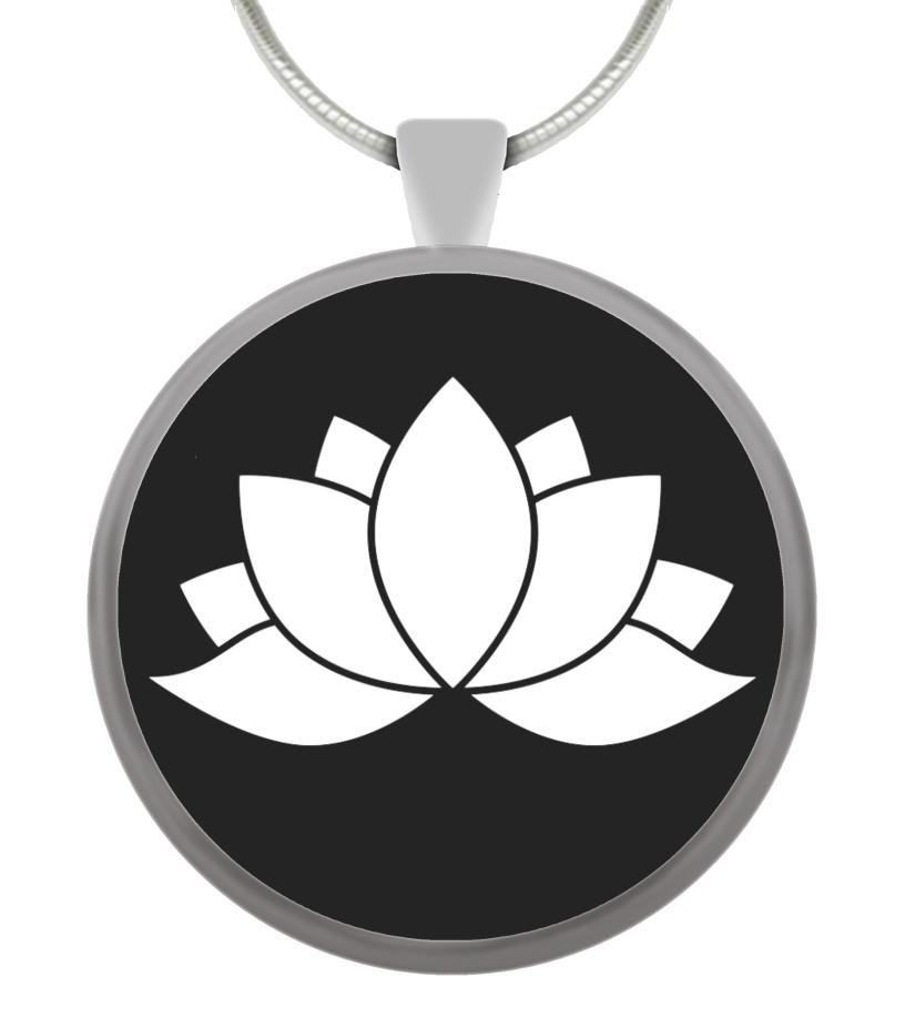 Yoga Schmuck Lotusblume Talisman Anhänger