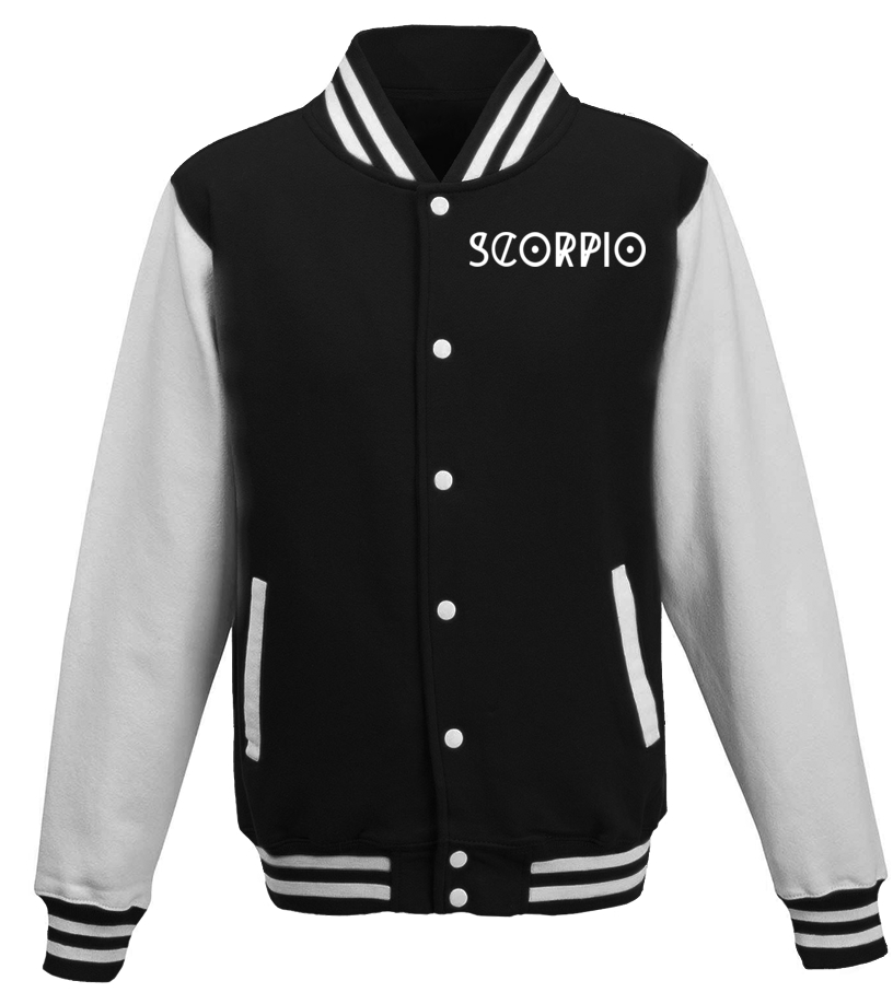 Best November Tshirt - Scorpio T-shirt Cool Horoscope Scorpio Astrology Baseball Jacket Unisex