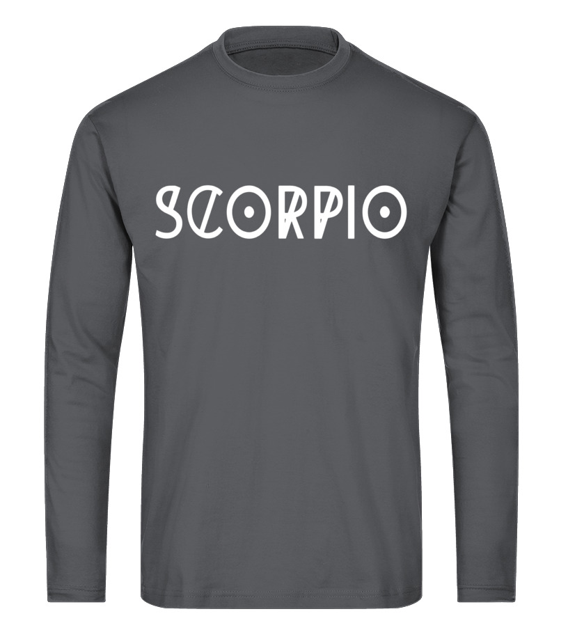 Best November Tshirt - Scorpio T-shirt Cool Horoscope Scorpio Astrology Long sleeved T-shirt Unisex