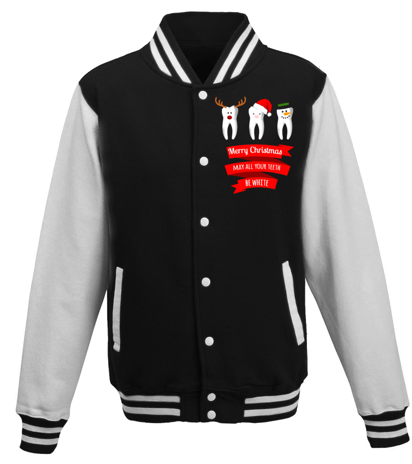 Gifts Christmas - Dentist Funny Christmas Thanksgiving T Shirt Baseball Jacket Unisex