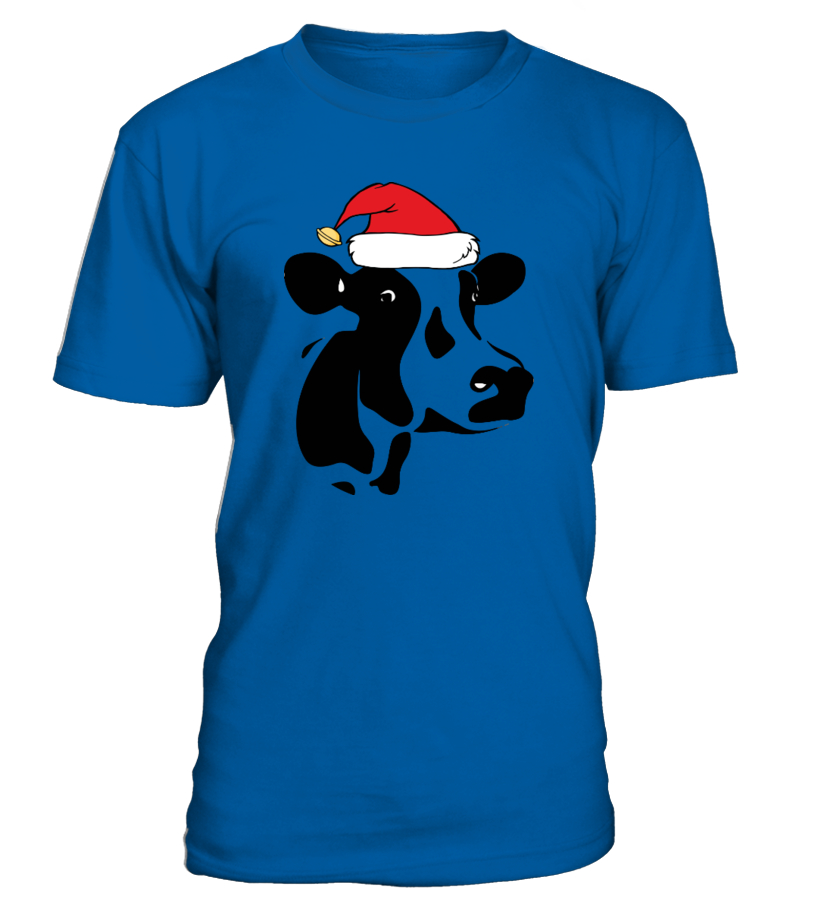 Funny Christmas - Cows Ugly Christmas Sweater Round neck T-Shirt Unisex