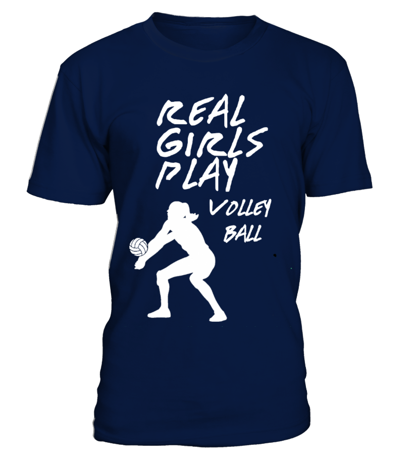 "T-shirt ""REAL GIRLS PLAY VOLLEY BALL"" - Limited Edition"