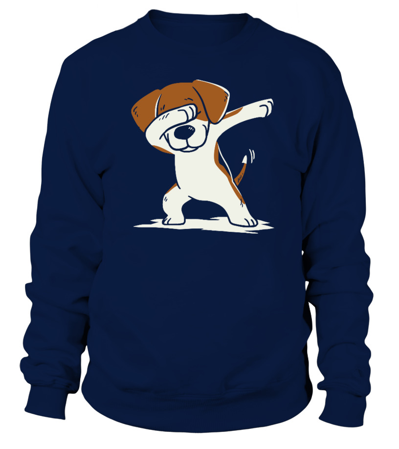 Awesome Christmas - Dog Dabbing Ugly Christmas Sweater Sweatshirt Unisex