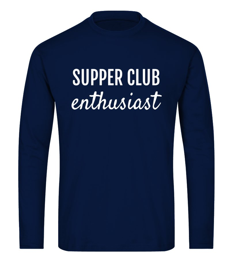 SUPPER CLUB ENTHUSIAST FUN SUMMERTIME STATEMENT T SHIRT