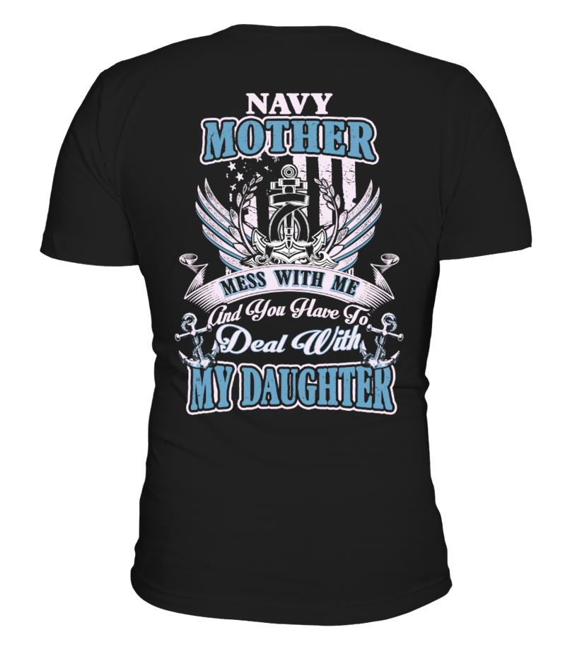 Navy Mom - Navy Mother Shirt