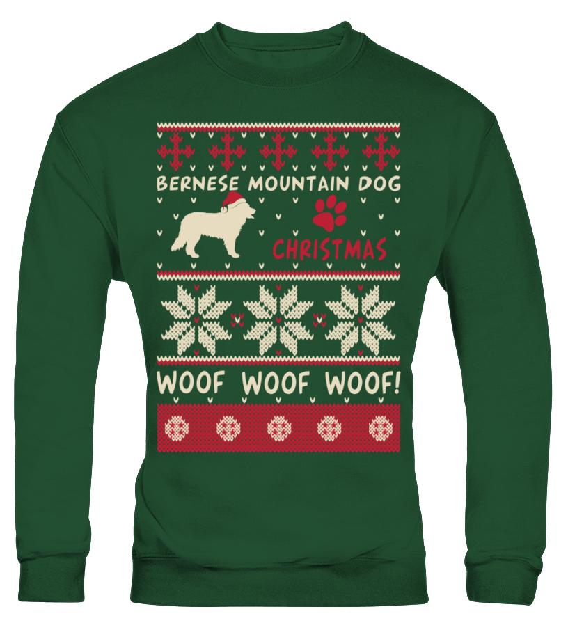 Awesome Christmas - Bernese Mountain Dog Christmas Sweater Shirt Sweatshirt Unisex