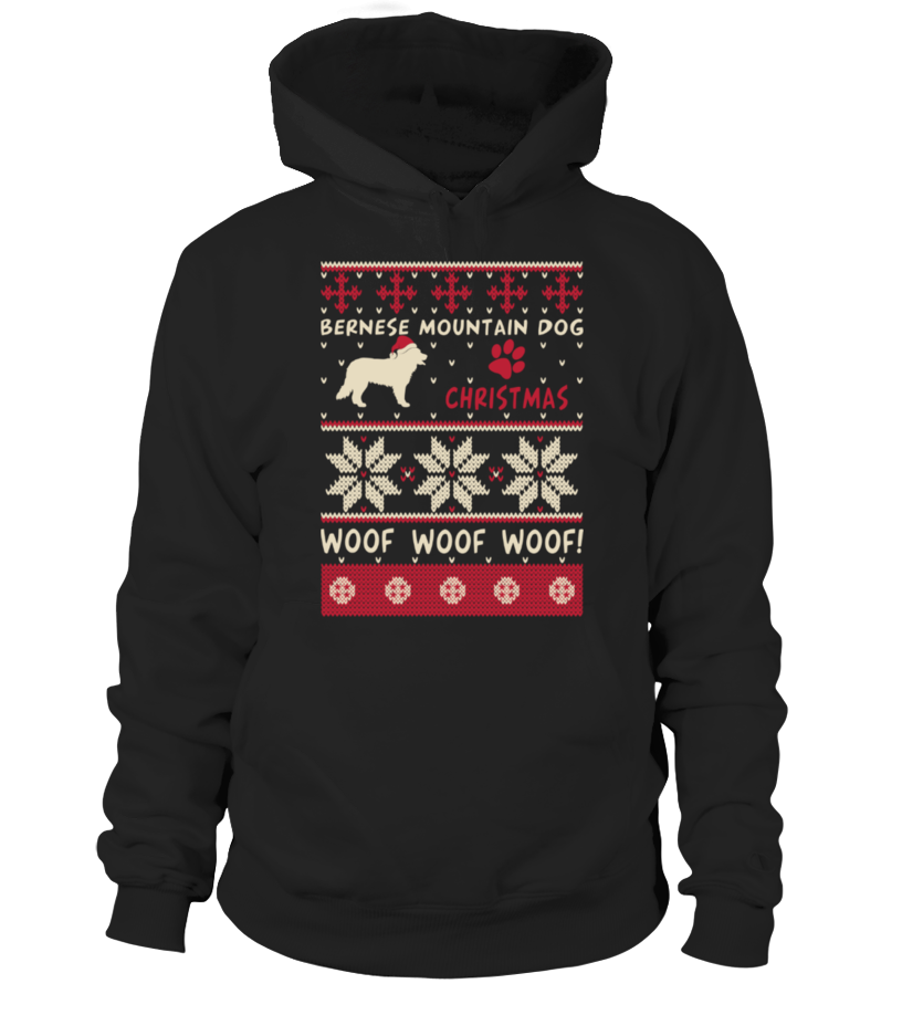Awesome Christmas - Bernese Mountain Dog Christmas Sweater Shirt Hoodie Unisex