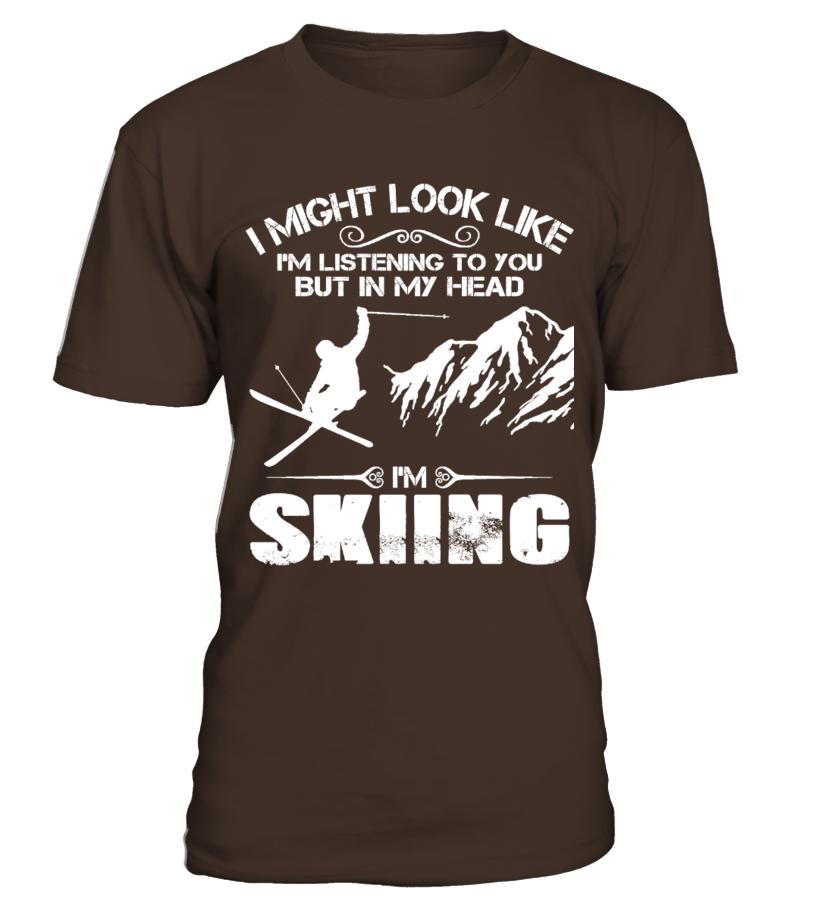 I'm Skiing !
