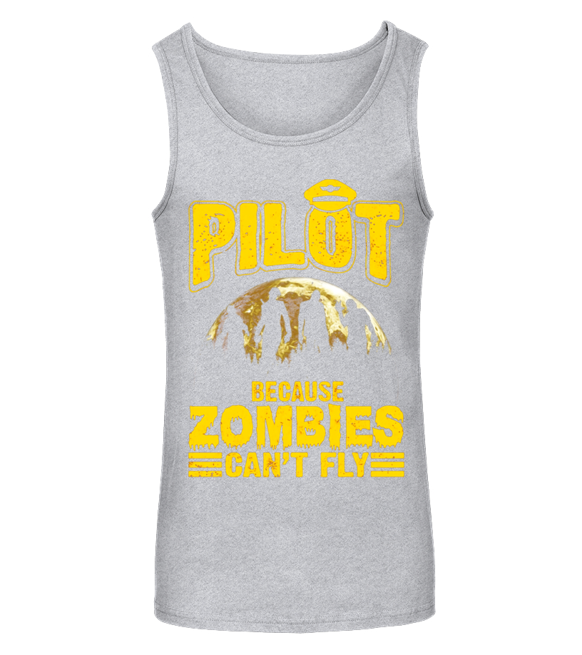 Best Halloween - Pilot Because Zombies Cant Fly Funny Halloween T-Shirt Tanktop Unisex