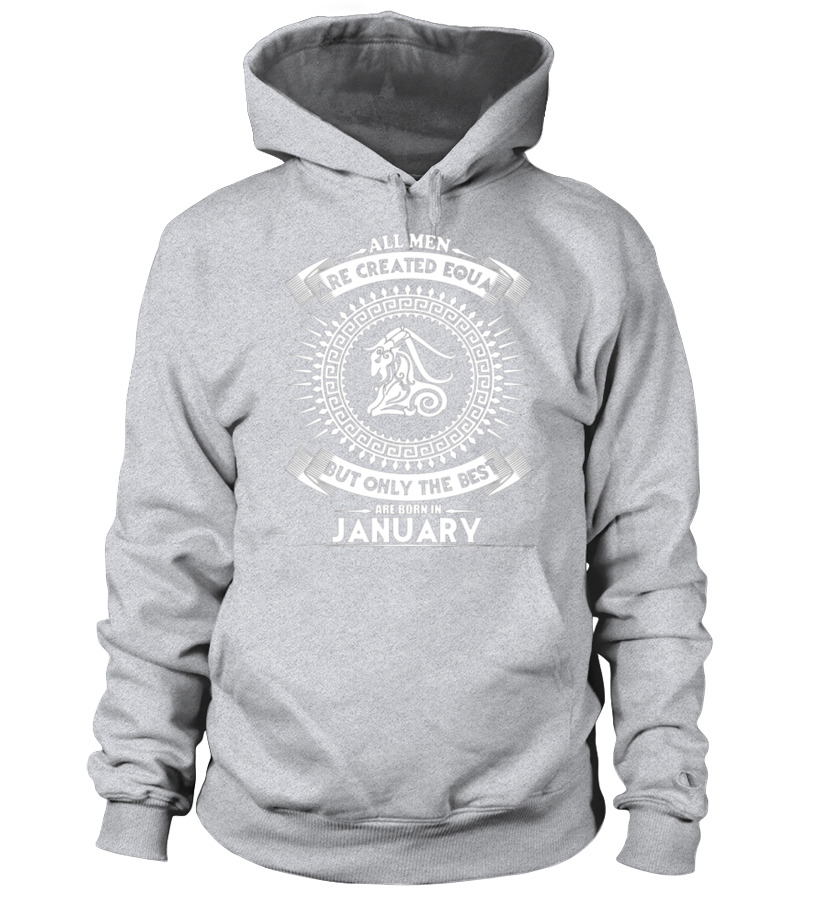 Shop January Birthday - The best man who was born in January T-shirt Hoodie Unisex