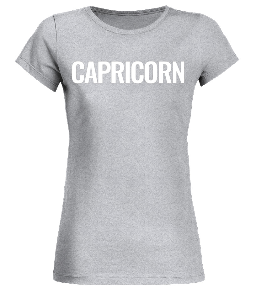 Gifts January Birthday - Vintage Capricorn T Shirt January Birthday Tee for Women Round neck T-Shirt Woman