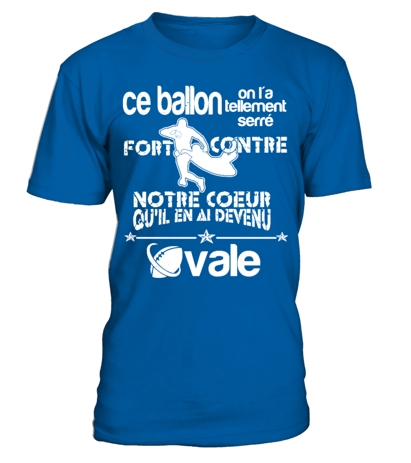 """RUGBY T-SHIRT """"OVALE"""""""