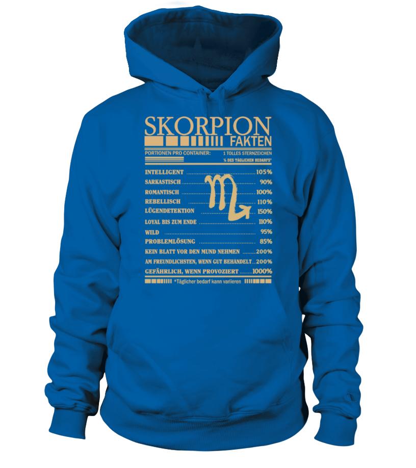 Skorpion Fakten