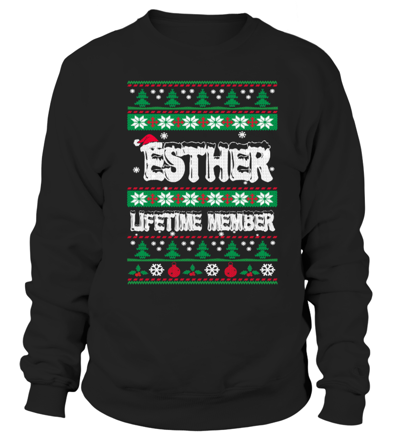 ESTHER Ugly Christmas Sweaters
