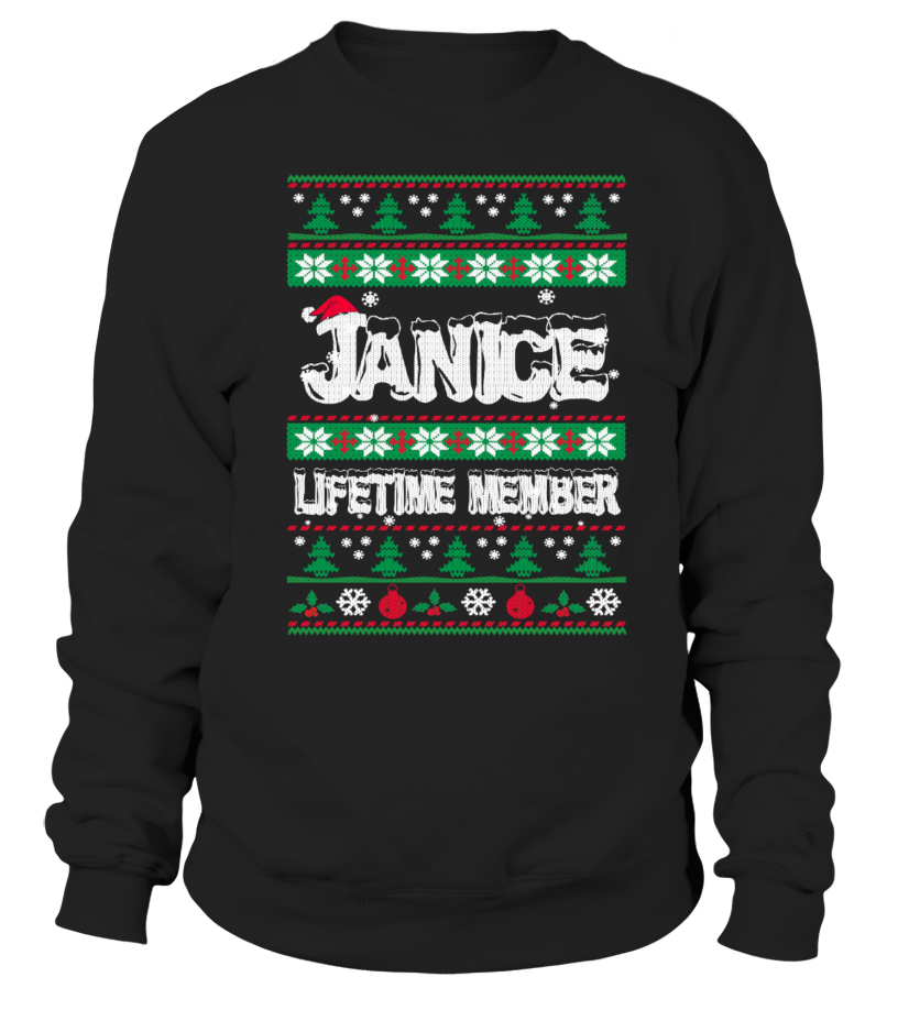 JANICE Ugly Christmas Sweaters